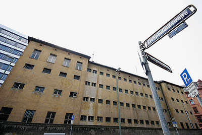 Ehemaliges Polizeigefängnis »Klapperfeld« in Frankfurt am Main