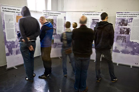 Ausstellung: Umkämpfte Vergangenheit. Die Erinnerung an den Spanischen Bürgerkrieg und den Franquismus