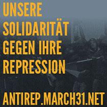 [M31] Unsere Solidarität gegen ihre Repression
