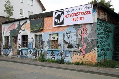 Metzgerstraße in Hanau